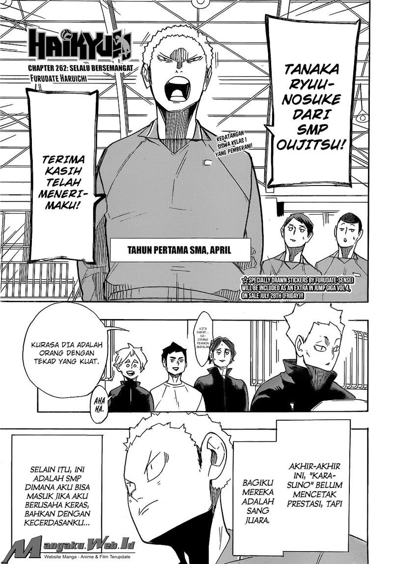 Haikyuu!! Chapter 262-1