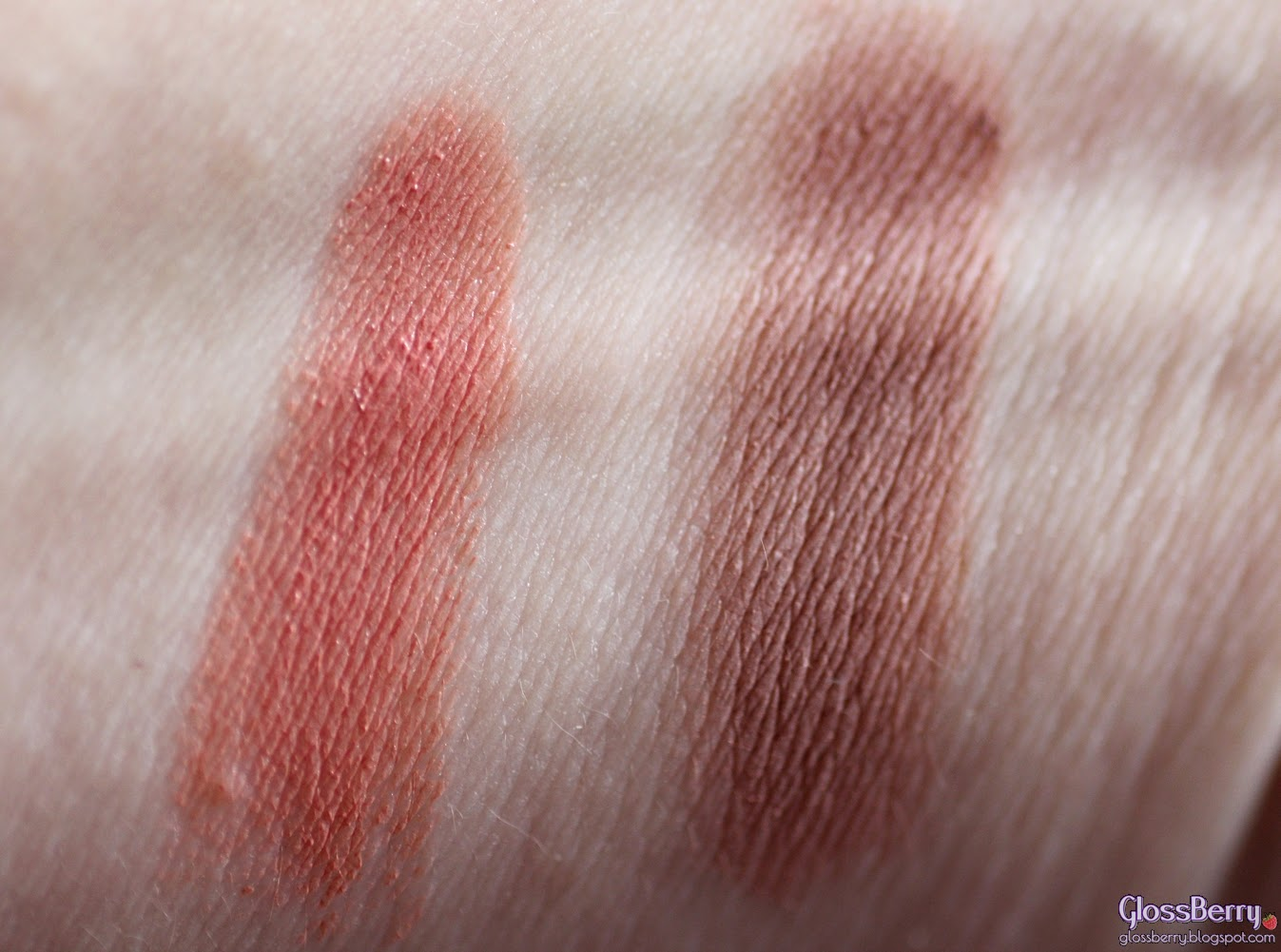 GIVENCHY Ombre Couture - 3 - Rose Dentelle review swatches glossberry צללית קרם ג'יבנשי גלוסברי בלוג איפור וטיפוח