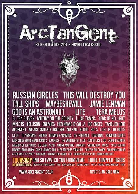 ArcTanGent festival
