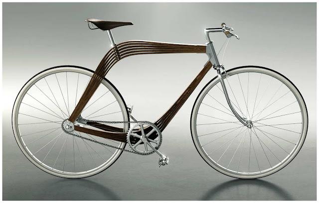 Aero Bicycle - сочетание структурной функциональности и эстетической простоты