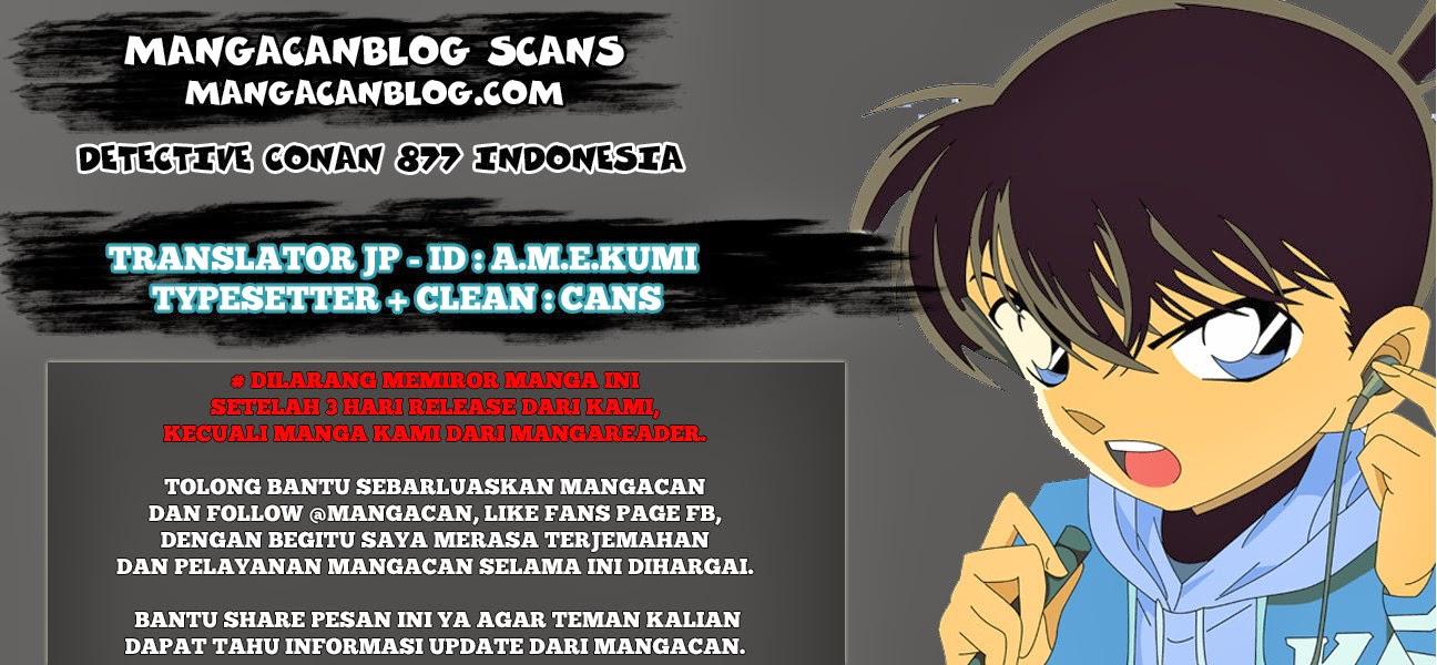 Dilarang COPAS - situs resmi www.mangacanblog.com - Komik detective conan 877 - gadis yang mirip sera 878 Indonesia detective conan 877 - gadis yang mirip sera Terbaru |Baca Manga Komik Indonesia|Mangacan