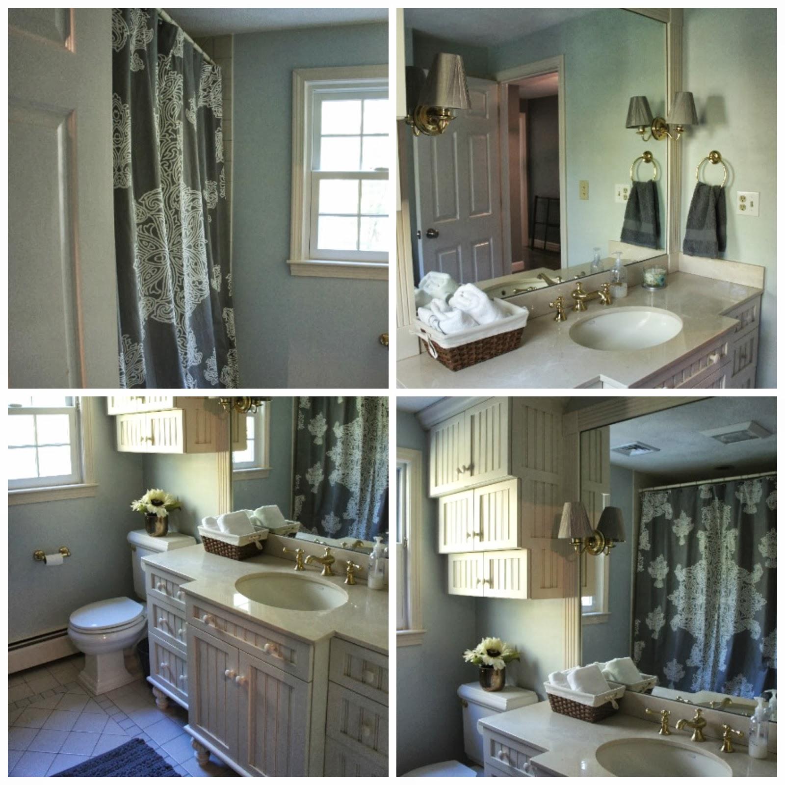 Elegant Quick Guest Bathroom Update