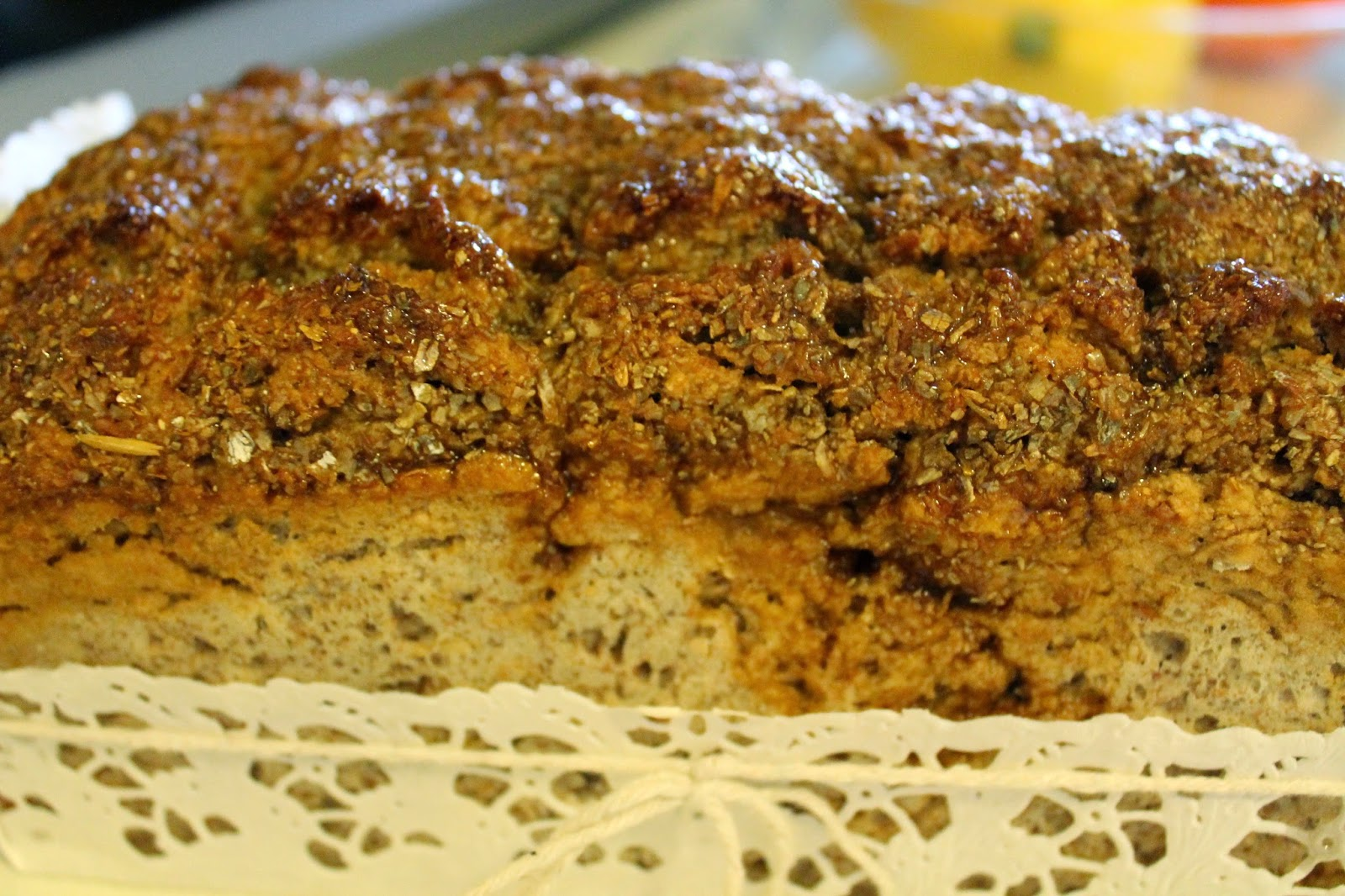 healthy and yammy rye bread to try, recipe in blog