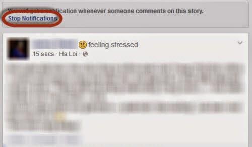 """2 bước nhanh chóng hủy nhận thông báo """"bình luận"""" trên Facebook"""