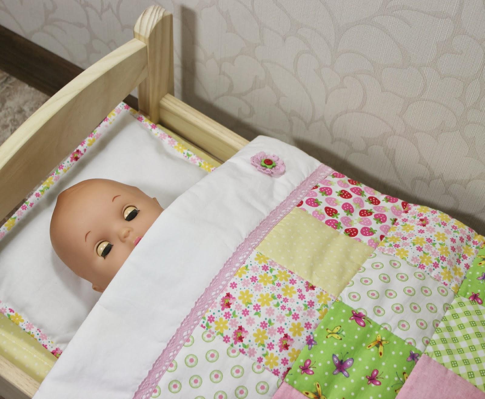 Постелька для кукол своими руками 25