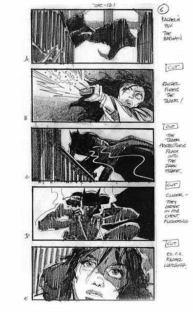 Storyboard - Batman Begins