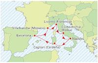 Viaje para mayores de 55 años por el Mediterráneo