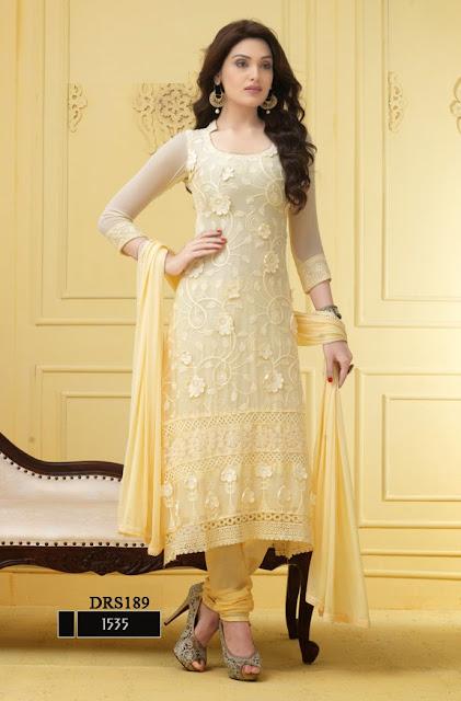 Buy Online Chiffon Karachi Work Dress Material