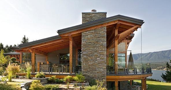 Fachadas casas modernas fachadas de casas modernas con for Fachadas de casas elegantes modernas