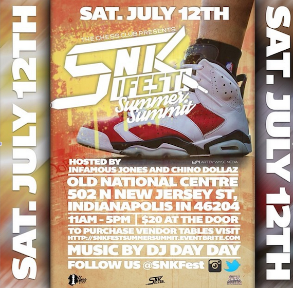 SnkFest is Coming!!! Summer Summit!! July 12th!!!! This year will be epic! Indy are you ready?