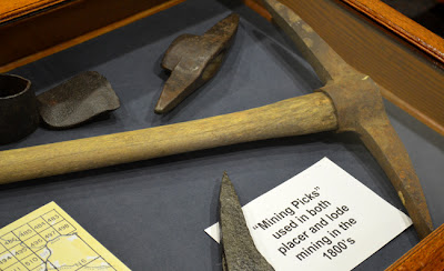 Pick Axe used for mining gold in the 1800s