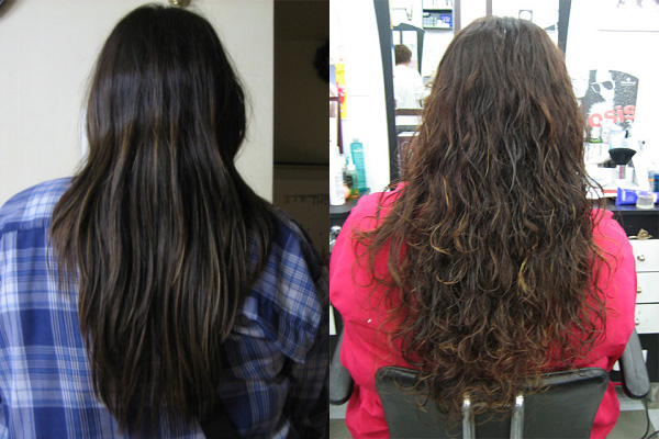 Digital Perm Before And After