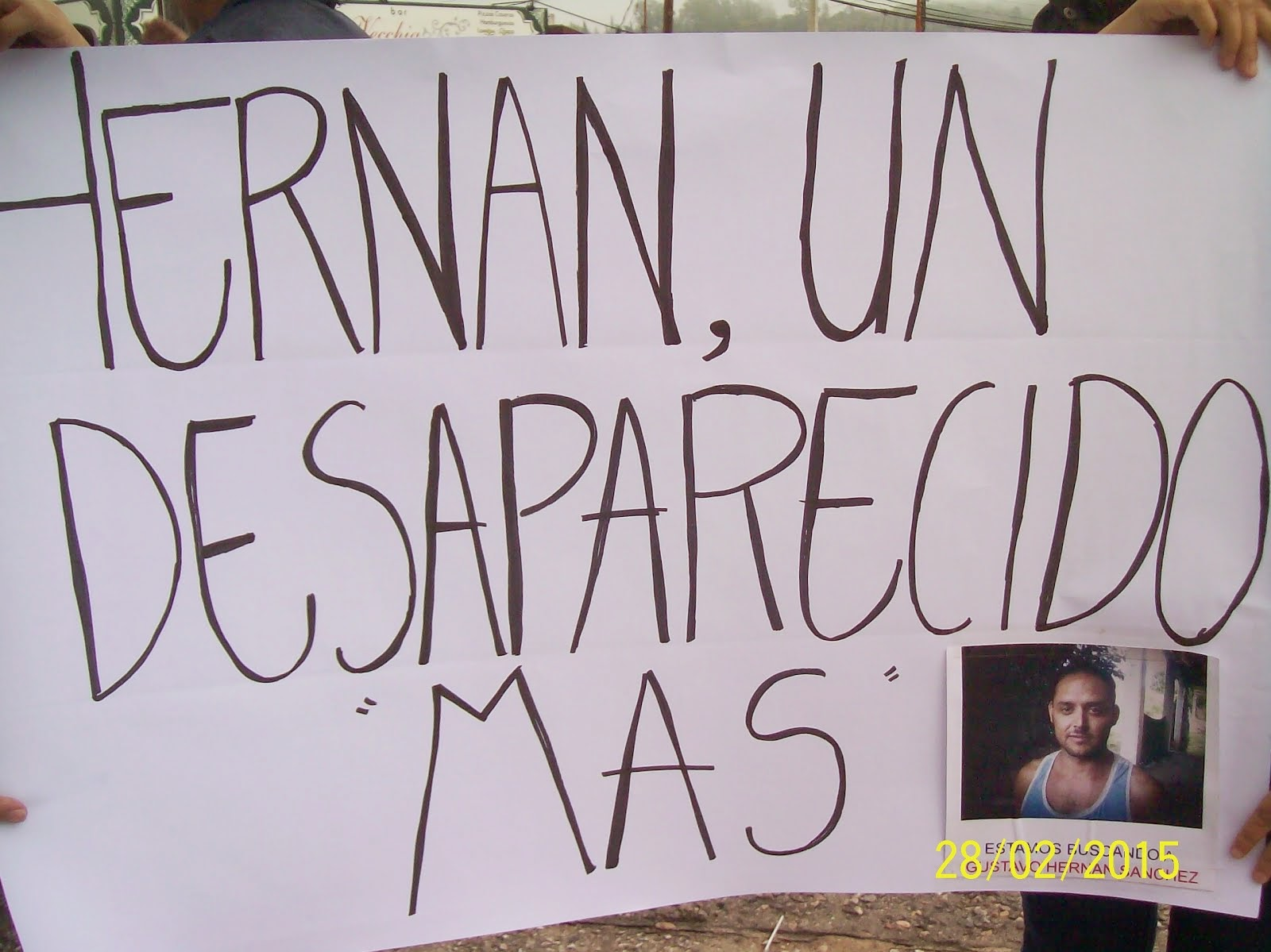 Apareció el cuerpo sin vida de Hernán Sánchez