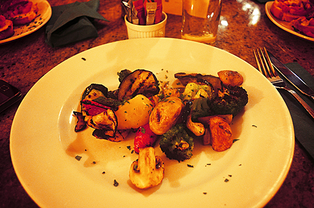 stephi lareine, sergios italian, grilled vegetables