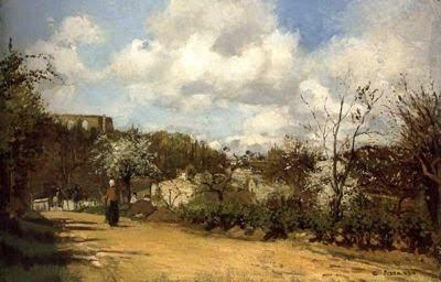 Panorama des de Louveciennes (Camille Pissarro)