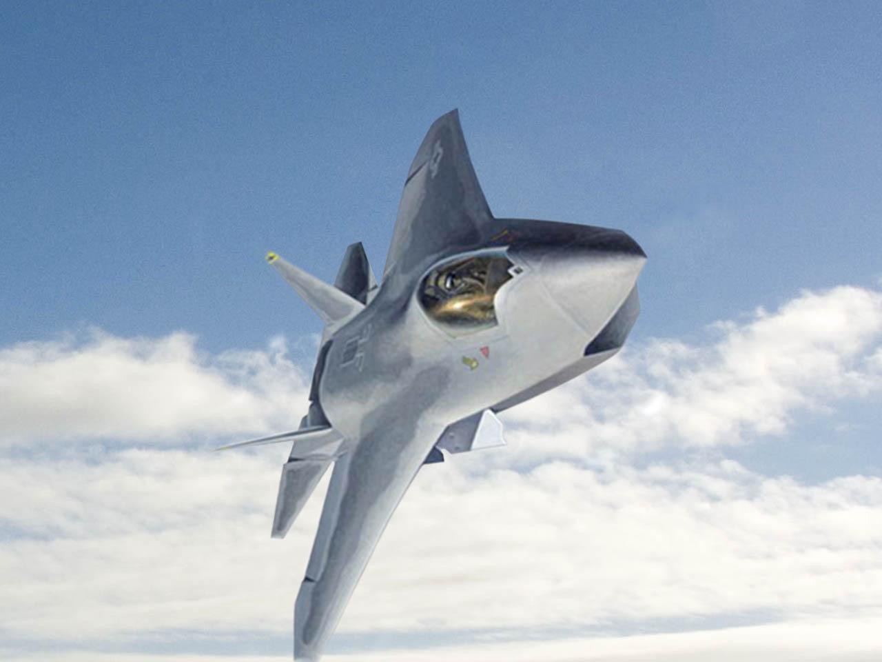 Fighter Jet: Boeing X-32