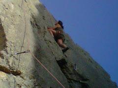!!Y mi hija Esther en la roca!!
