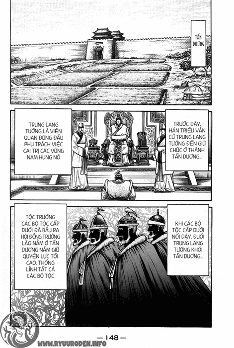 Chú Bé Rồng - Ryuuroden chap 121 - Trang 16