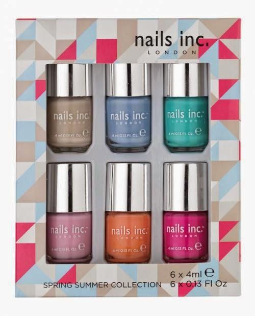 La colección Primavera Verano de Nails Inc