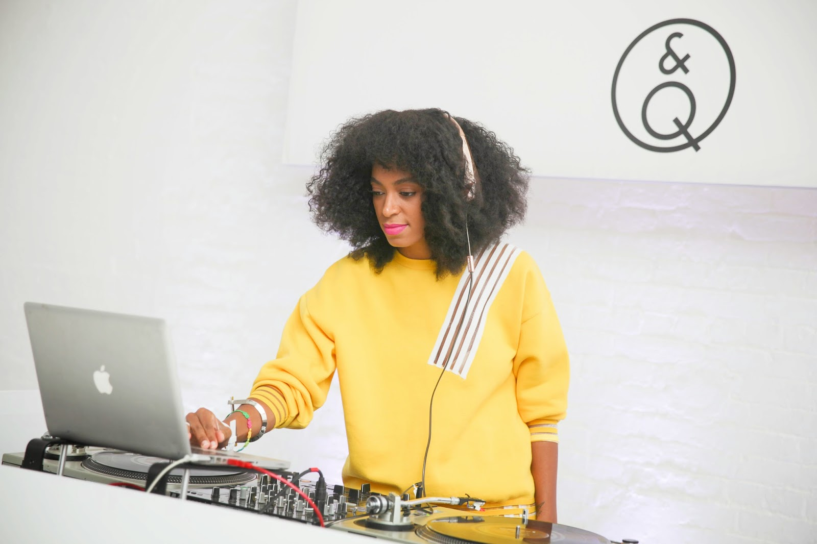 Q&Q hosted their US debut celebration with DJ Solange Knowles