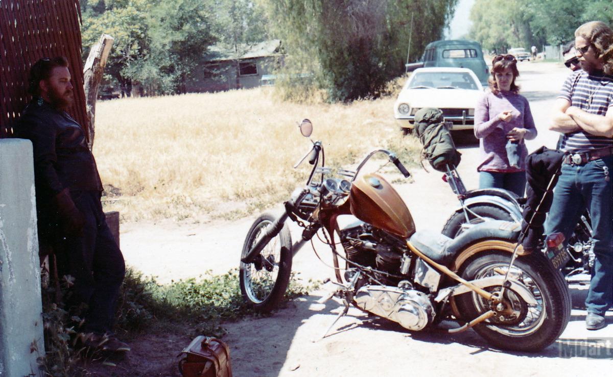 MC Art/Motorcycle Art: The Goose Neck King