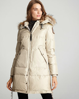 Parajumpers Long Bear Coat Jacket Black For Women