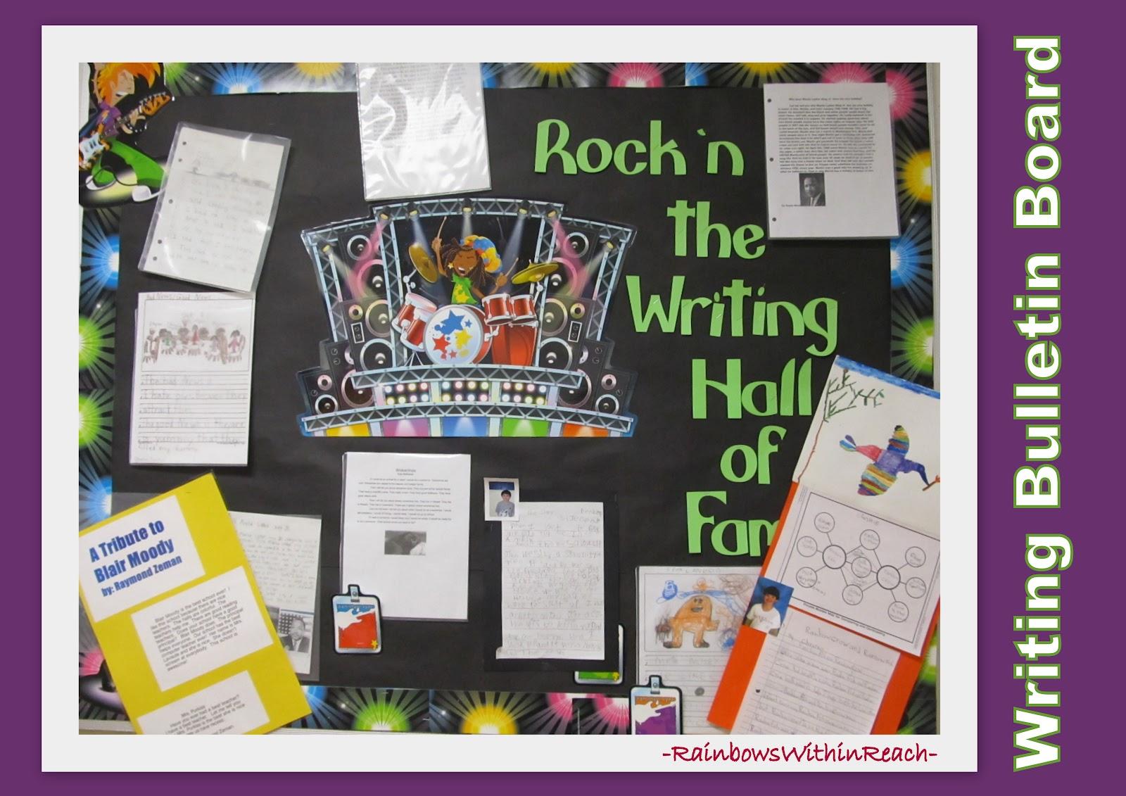 writing bulletin board ideas