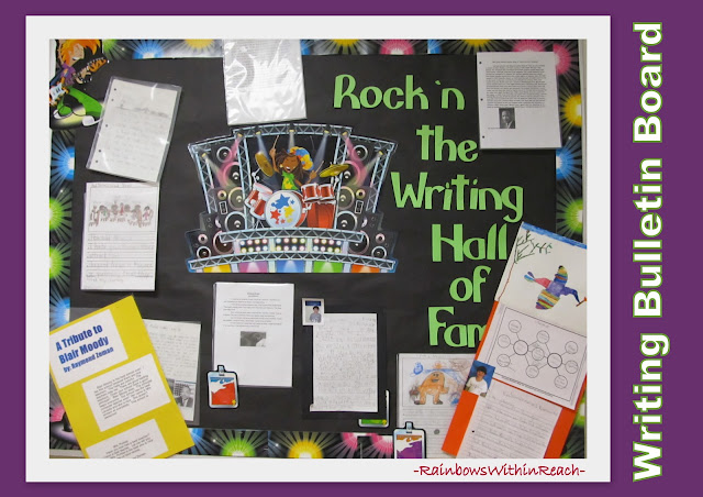 photo of: Bulletin Board to display Excellence in Writing in Elementary School