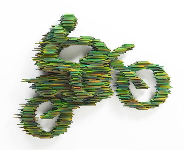 Doctor Ojiplático. Kang Bong-Duck. PVC Sculpture.