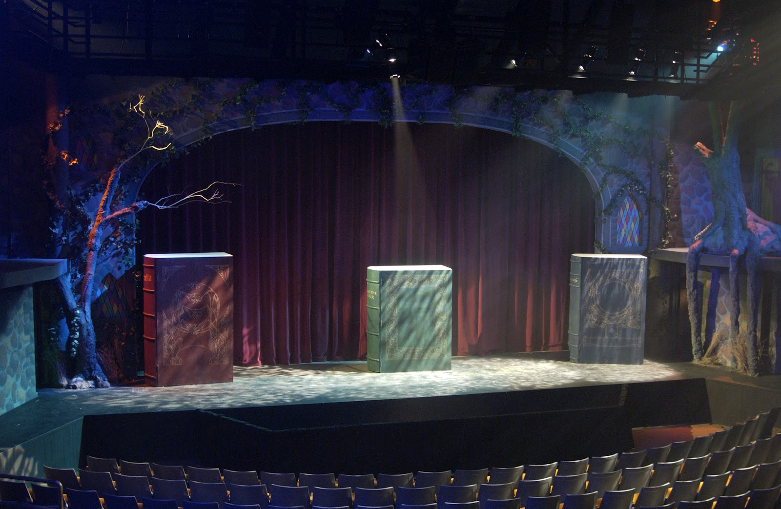 into the woods opening set design theatrical designing 1600x1043