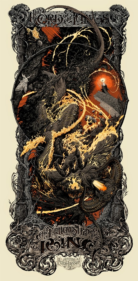 The Lord of the Rings: The Fellowship of the Ring Standard Edition Screen Print by Aaron Horkey