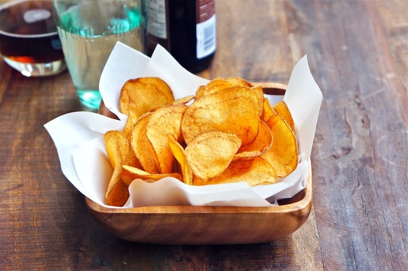 Seasaltwithfood: Homemade Potato Chips