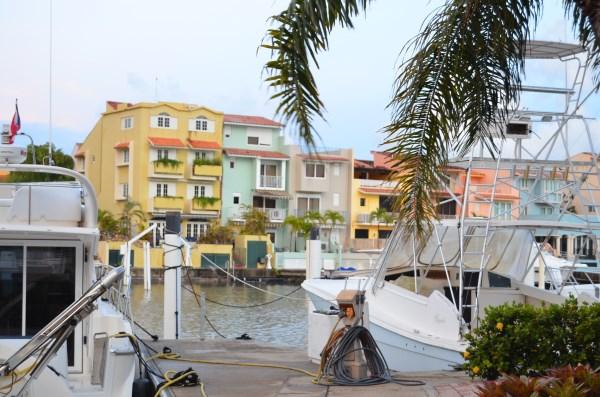 Palmas del Mar Marina and Bay