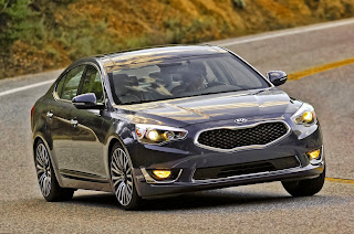 Kia gets fancy with its new Cadenza