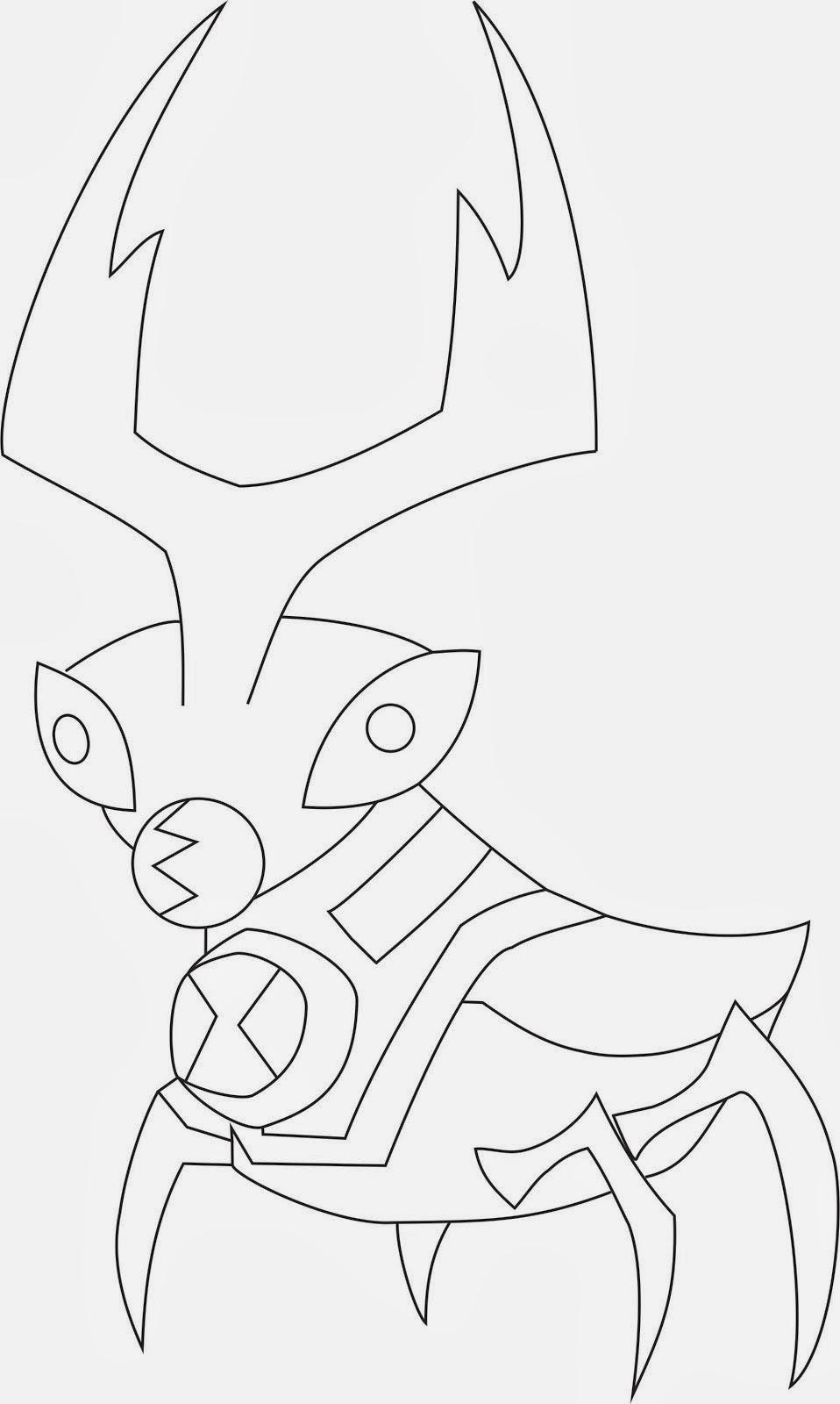 Juegos De Dibujos Para Colorear De Ben 10 Omniverse ~ Ideas ...