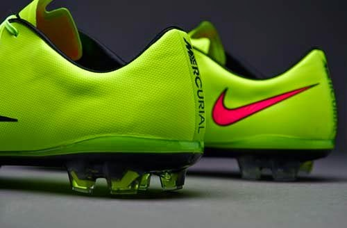 2014 Nike Mercurial Vapor X FG with Green Color