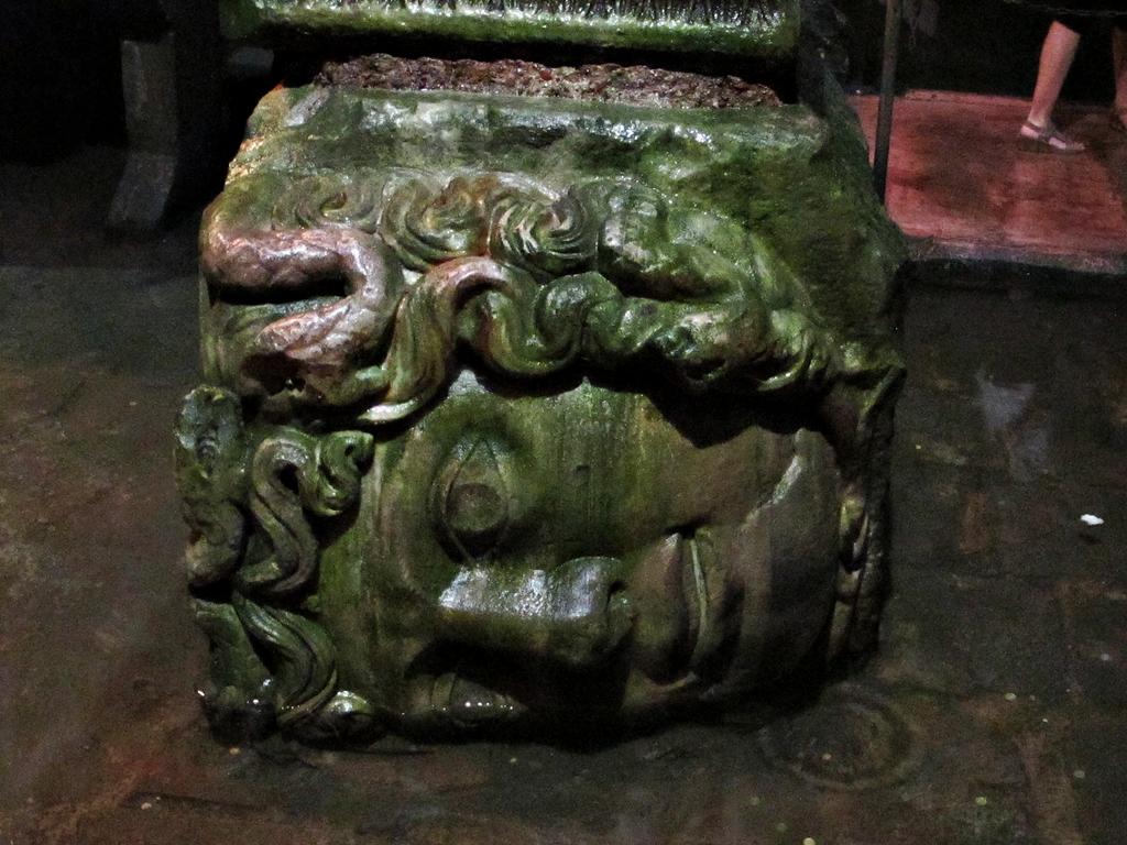 Milerenda estambul 7 parte la cisterna de la bas lica for Lo espejo 0847 la cisterna