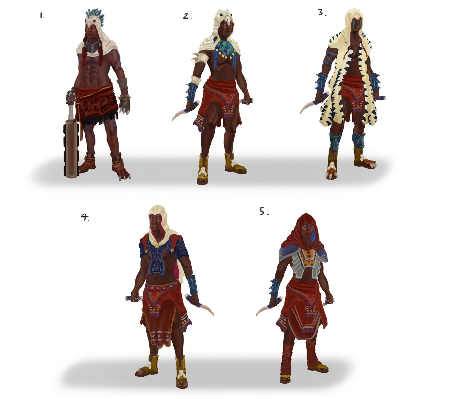 Concept Character Design Brief : Chrisreillyart conceptart practice assassins creed aztec