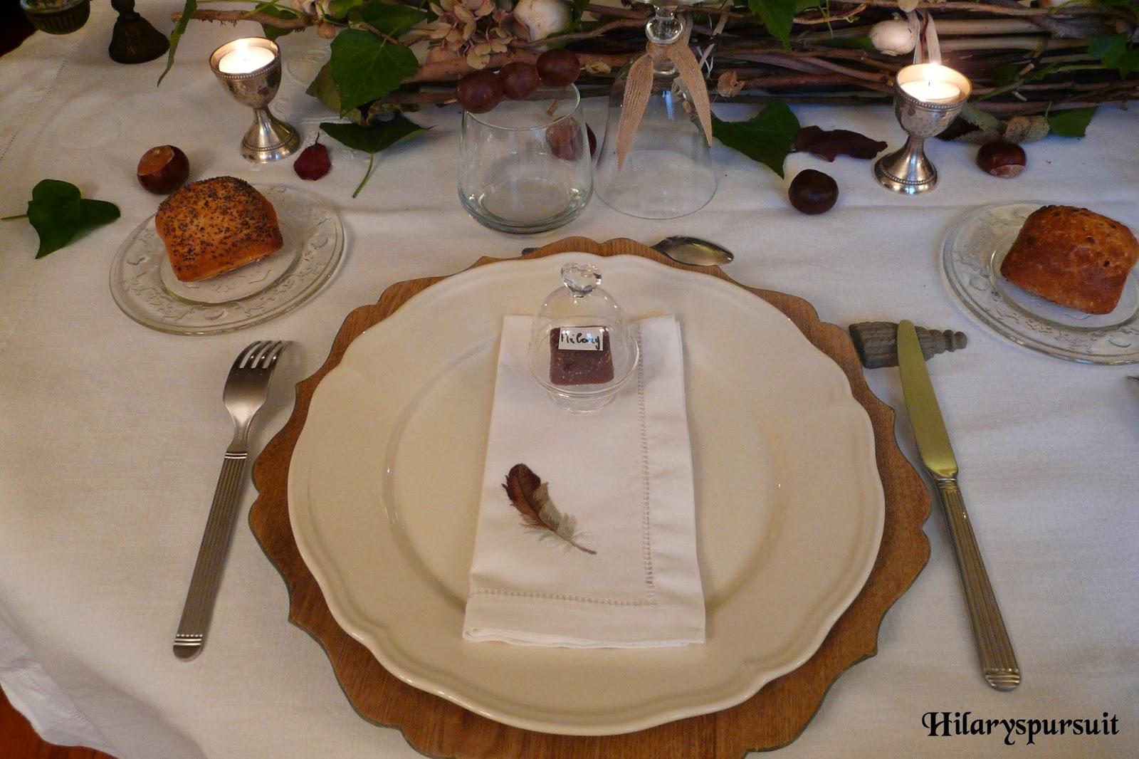 Dans la cuisine d 39 hilary table d 39 automne comme une balade for Assiette jardin d ulysse