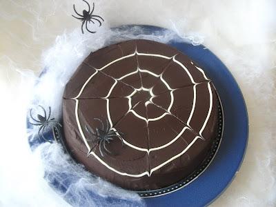 Lime and Dark Chocolate Chiffon Cake