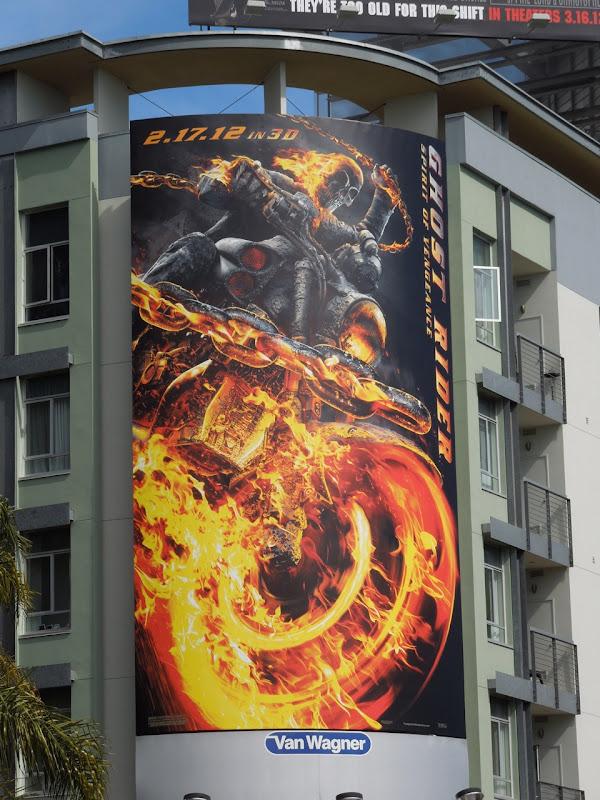 Ghost Rider 2 movie billboard