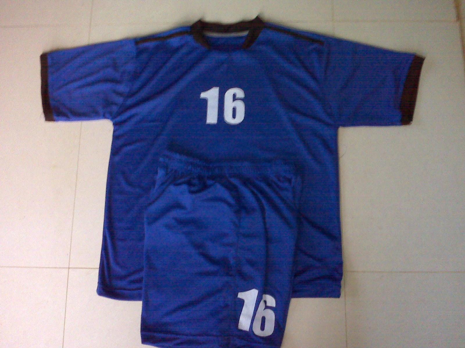 Gambar Desain Model Kaos Jersey Bola Terbaru