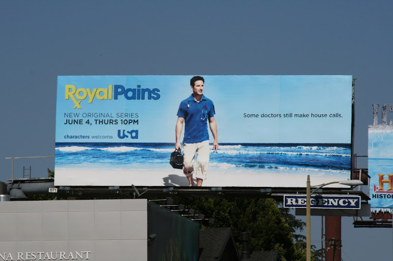 Royal Pains season 1 billboard