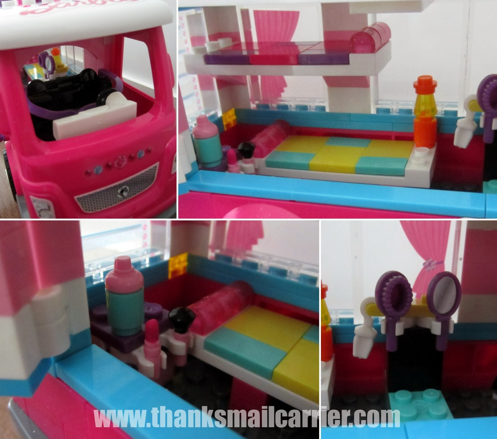 Mega Bloks Barbie camper accessories