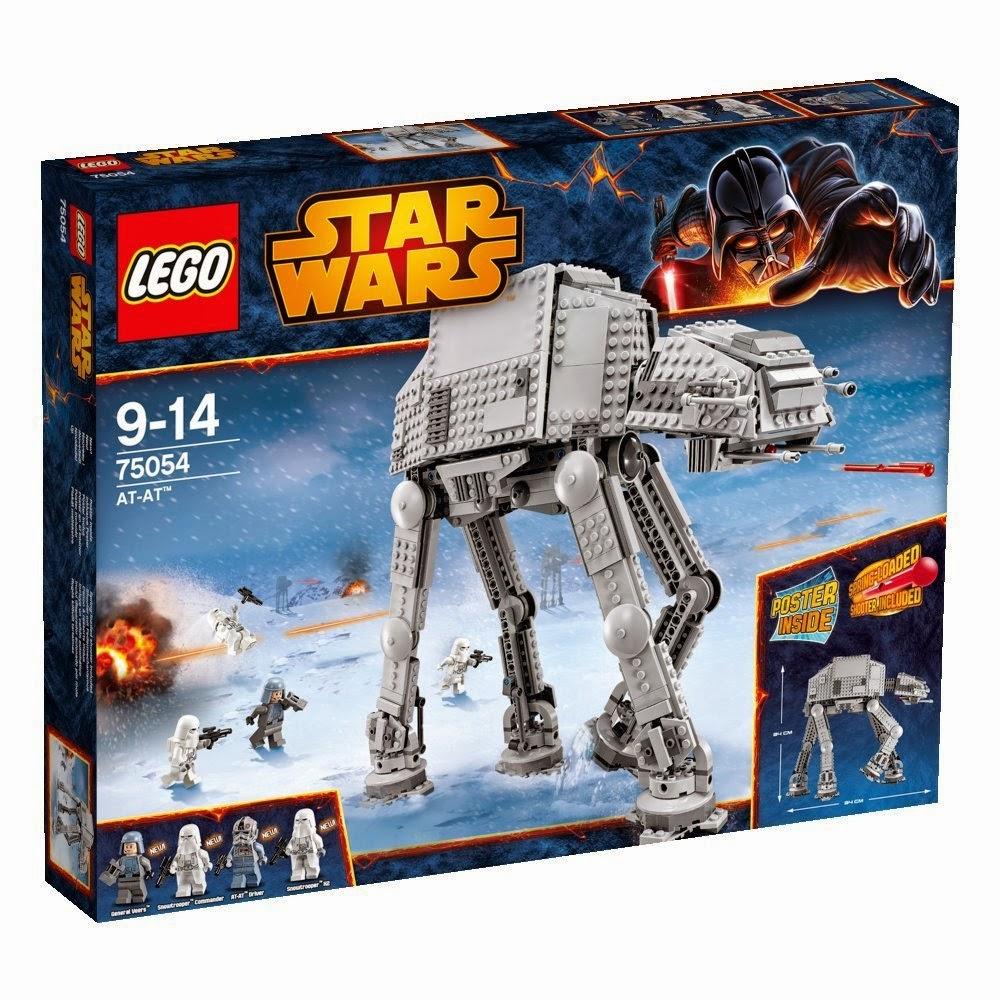 Caja Lego Star Wars AT-AT (75054)