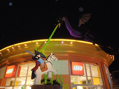 Lego Maleficent Downtown Disney Store Disneyland dragon