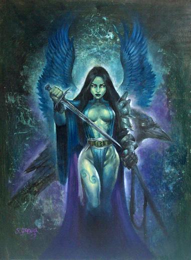 Dark goddess musings dark goddess of the week badb for Maitresse lilith