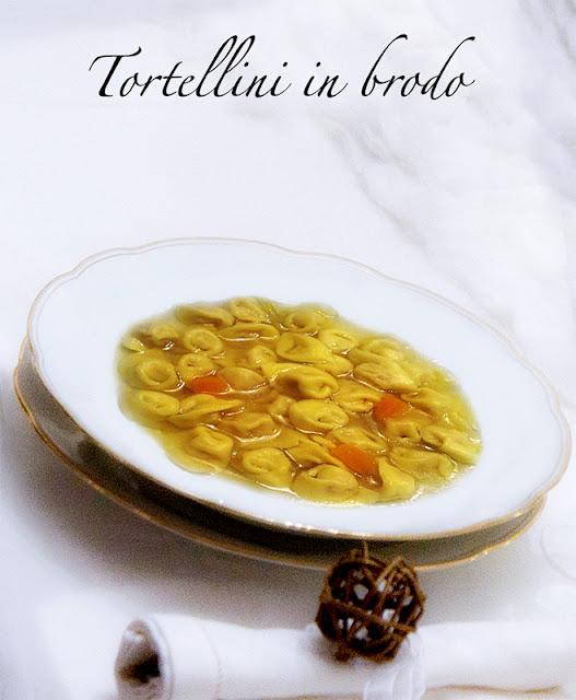 Tortellini bolognesi in brodo