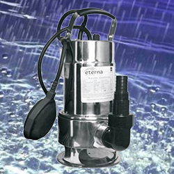 Kirloskar Clear Water Submersible Pump ETERNA 750SW (1HP) Online, India - Pumpkart.com