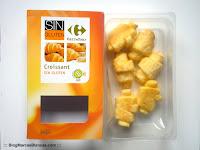 "Croissants sin gluten Carrefour ""Sin Gluten"" fabricados por Proceli."